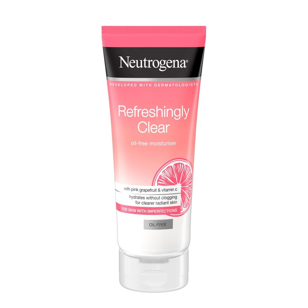Neutrogena® Refreshingly Clear brezoljna vlažilna krema za obraz